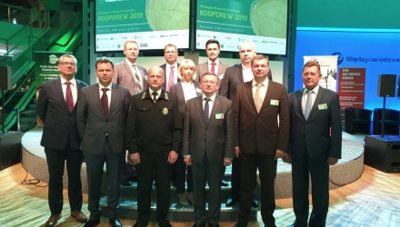 BELARUSIAN WOODWORKING POTENTIAL PRESENTED IN POLAND