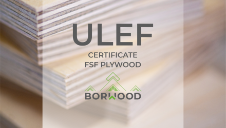FSF PLYWOOD WITH ULEF CERTIFICATE