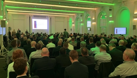BORWOOD HOLDING DURING THE HOLDING OF BRITISH TIMBER TRADE FEDERATION ANNUAL MEETING