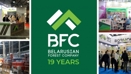 BELARUSIAN FOREST COMPANY – 19 YEARS!