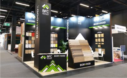 STAND OF BELARUSIAN FOREST COMPANY OPENING AT THE INTERZUM-2019 EXHIBITION IN GERMANY